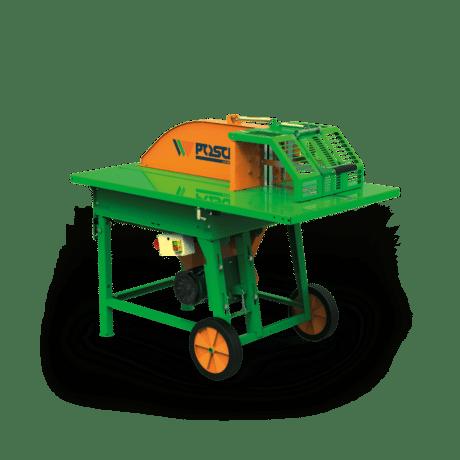 Rolltisch Kreissäge für Brennholz, elektrischer Antrieb, Posch