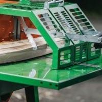 Kreissäge, Sicherheit beim Brennholz Sägen
