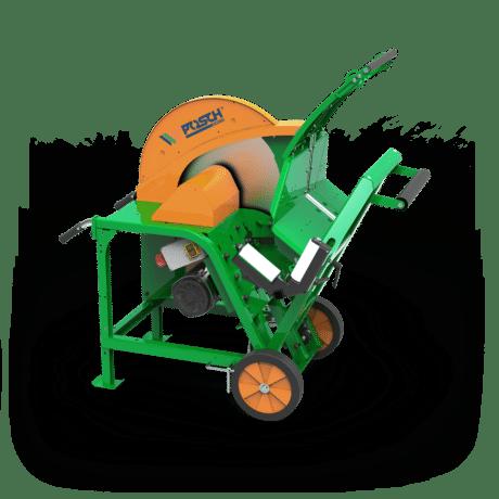 Posch, Wippkreissäge für die Holzarbeit, Scheitholz, Keilriemenantrieb
