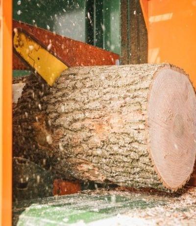 Harvester-Kettensäge, Brennholzautomat, Posch