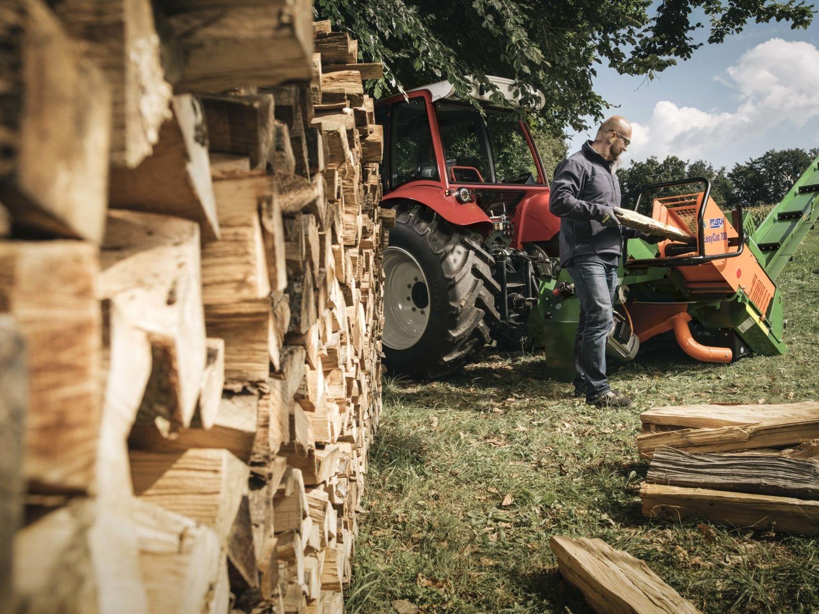 Schnell und sicher Brennholz machen