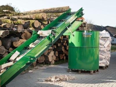 Brennholz trocknen, lagern, PackFix, POSCH Leibnitz
