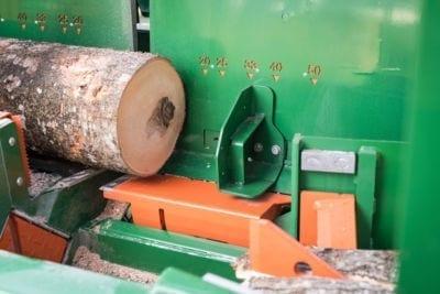 Kettensäge, Holzübergabe, Holzstamm, POSCH Leibnitz