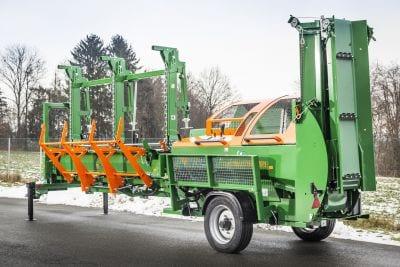 Posch Sägespalter, Sägespaltautomat SpaltFix S-375 Transport mit Fahrwerk