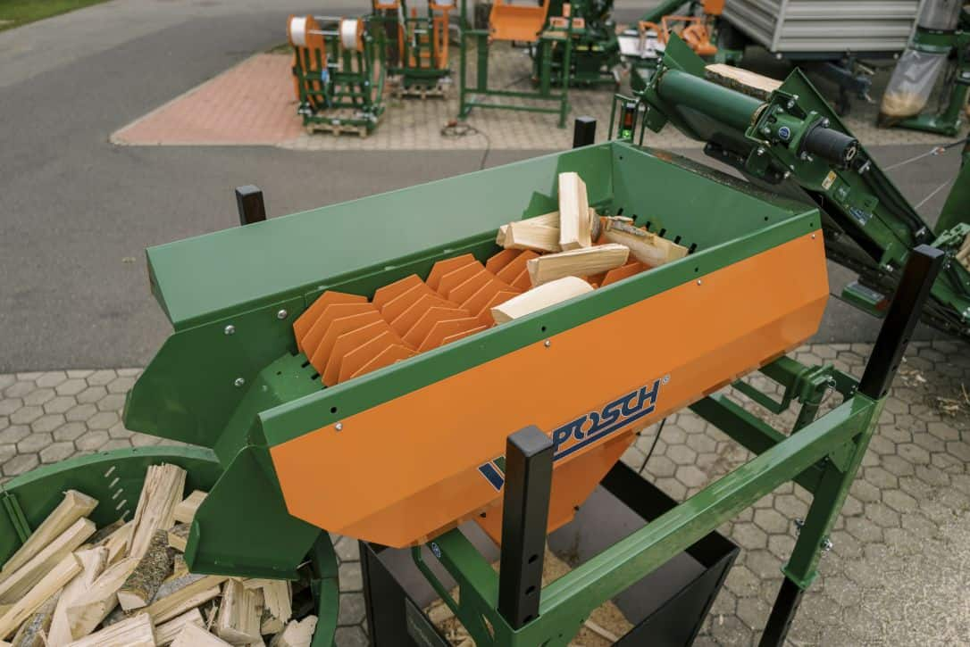 Scheitholz Reiniger LogFix für Brennholz   POSCH