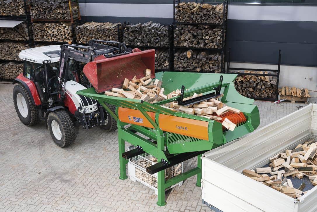 Firewood cleaner LogFix   POSCH
